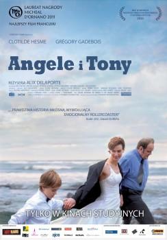 Polski plakat filmu 'Angele i Tony'