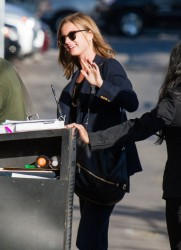 Emily VanCamp - at Jimmy Kimmel Live in Hollywood 10/8/13