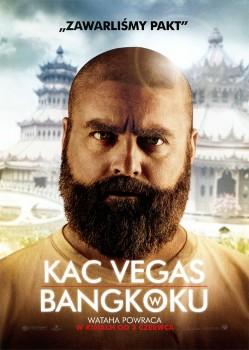 Przód ulotki filmu 'Kac Vegas W Bangkoku'
