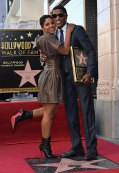 "Toni Braxton - Honoring Kenny ""Babyface"" Edmonds on the Hollywood Walk of Fame 10/10/13"