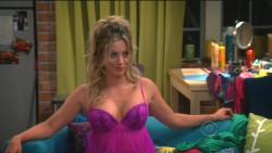 "Kaley Cuoco Looking Sexy in Lingerie in The Big Bang Theory S7 E4 ""The Raiders Minimization"""