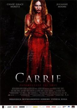 Przód ulotki filmu 'Carrie'