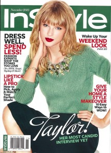 Taylor Swift | Instyle November 2013