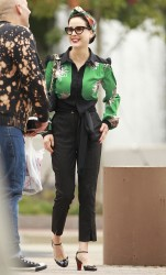 Dita Von Tesse Out & About In Charlotte October 12, 2013 HQ x 6