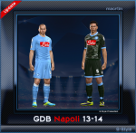 download PES 2014 Napoli 13-14 GDB by G_Style