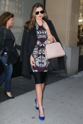 Miranda Kerr - Cosmopolitan Magazine Meeting in NYC 10/15/13