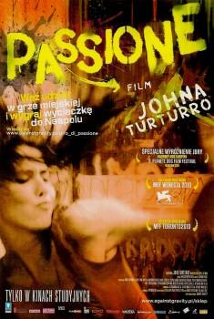 Przód ulotki filmu 'Passione'