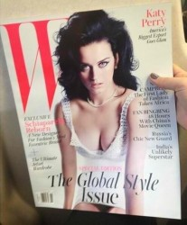 Katy Perry in W Magazine - November 2013