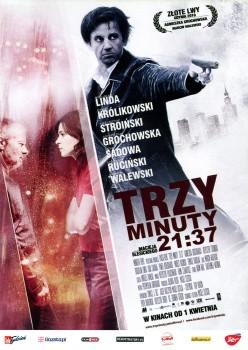 Przód ulotki filmu 'Trzy Minuty. 21:37'