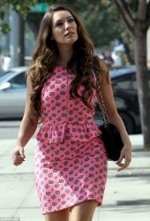 Kelly Brook - out in LA 10/24/13