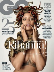 Rihanna - GQ UK - November 2013