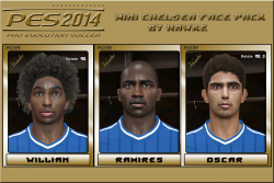 download PES 2014 Mini Chelsea FacePack By Hawke