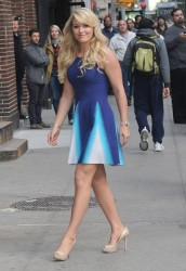 Lindsey Vonn - Arriving to the 'Late Show with David Letterman' in NYC 10/28/13