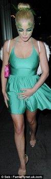 Helen Flanagan - Halloween Party - x8