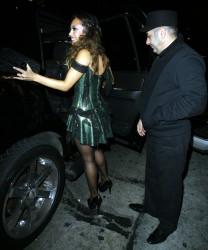 Nicole fine Cheryl burke pantyhose