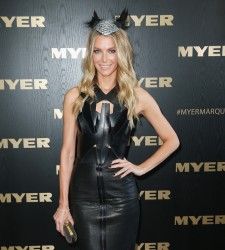 Jennifer Hawkins - Victoria Derby Day in Melbourne 11/2/13