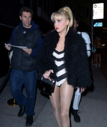 Alessandra Torresani - Halloween party at Bootsy Bellows in West Hollywood 10/31/13