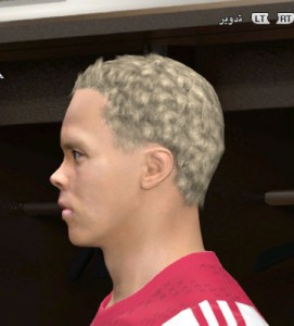 Sigthorsson Face for pes2014