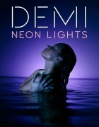 Demi Lovato - Neon Lights - Single Cover