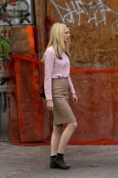 Heather Graham - on the set of 'My Dead Boyfriend' in NYC 11/5/13