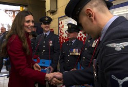Catherine, Duchess of Cambridge - The Royal British Legion's London Poppy Day Appeal in London 11/7/13