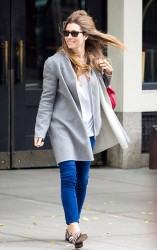 Jessica Biel - out in NYC 11/8/13
