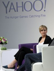 Jennifer Lawrence - Q&A at Yahoo! HQ in Sunnyvale 11/6/13