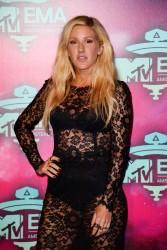 Ellie Goulding - 2013 MTV EMA's in Amsterdam 11/10/13