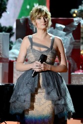 Jennifer Nettles - CMA Country Christmas Show Taping in Nashville 11/08/2013