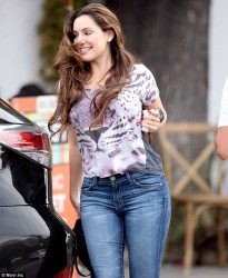 Kelly Brook - out in West Hollywood 11/12/13