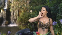 Katy Perry Looking Hot in the Making of Her Roar Music Video
