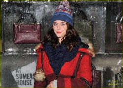 Kaya Scodelario - Coach Presents Skate VIP Launch Event in London 11/13/13