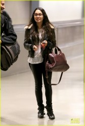 Vanessa Hudgens - At LAX Airport 11/15/13