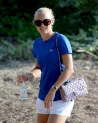 Caroline Wozniacki - 2013 DP World Tour Championship in Dubai 11/16/13