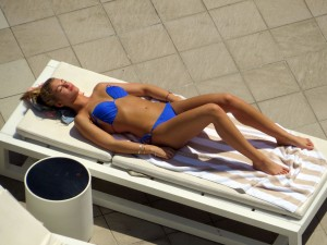ca024a289489608 Amy Willerton – bikini poolside candids in Sydney