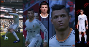 download PES 2014 Cristiano RONALDO by K0H