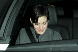 Anne Hathaway - at Mr. Chow in Beverly Hills 11/17/13