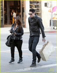 Brenda Song - Shopping in Beverly Hills 11/15/13