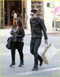 Brenda Song - Shopping in Beverly Hills 11/15/13