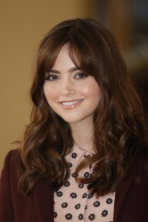 Jenna Coleman - Doctor Who 50th Anniversary reception at Buckingham Palace 11/18/13