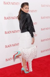 "Zendaya Coleman - ""Black Nativity"" Premiere in NYC 11/18/13"