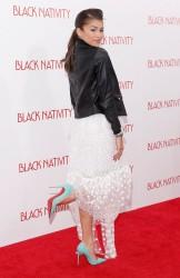 "Zendaya Coleman - ""Black Nativity"" Premiere in NYC 11/18/13"