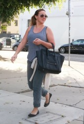 Haylie Duff - Shopping in LA 11/19/13