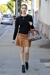 Emmy Rossum - out in Chicago 11/14/13