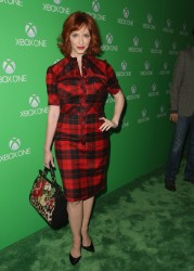 Christina Hendricks - XBox One launch in LA 11/21/13