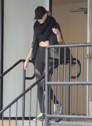 Rosie Huntington-Whiteley - leaving the gym in Studio City 11/22/13