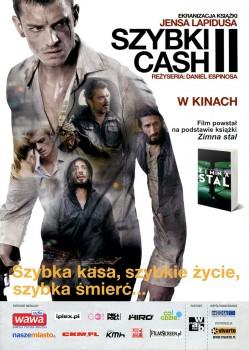 Przód ulotki filmu 'Szybki Cash II'