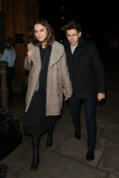 Keira Knightley - out in London 11/21/13