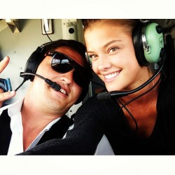 Nina Agdal - Instagram/Twitpic - October/November 2013