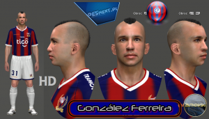 download González Ferreira PES 2014 Face